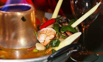 image for <strong>Thai</strong> Food and Drinks at Royal <strong>Thai</strong> Cuisine (Up to 33% Off)