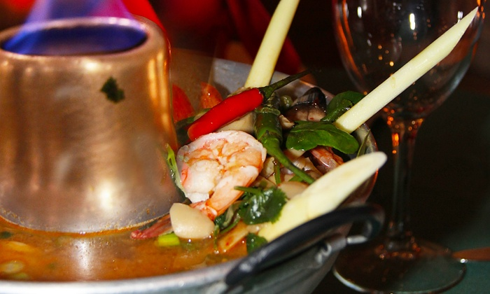 Royal Thai Cuisine - Multiple Locations: Thai Food and Drinks at Royal Thai Cuisine (Up to 46% Off)