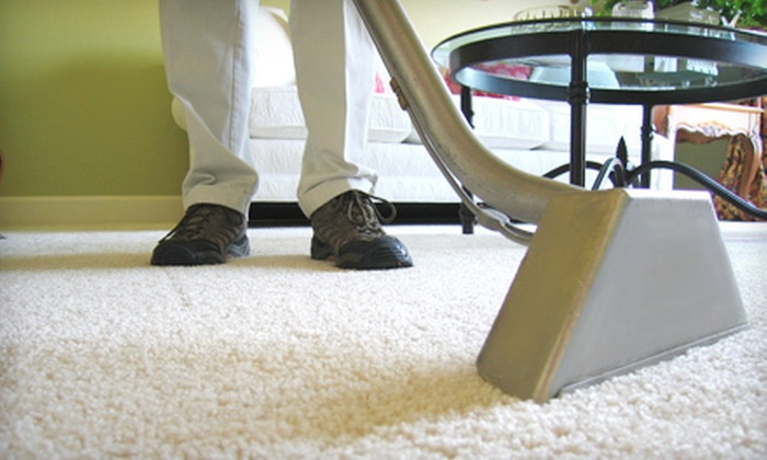 Viking Restoration DKI - Portland, ME: 4 or 10 Man-Hours of Water Extraction and Carpet Cleaning from Viking Restoration DKI (Up to 60% Off)