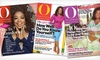 """O, The Oprah Magazine"": $9 for a One-Year Subscription to ""O, The Oprah Magazine"" ($18 List Price). Free Shipping."