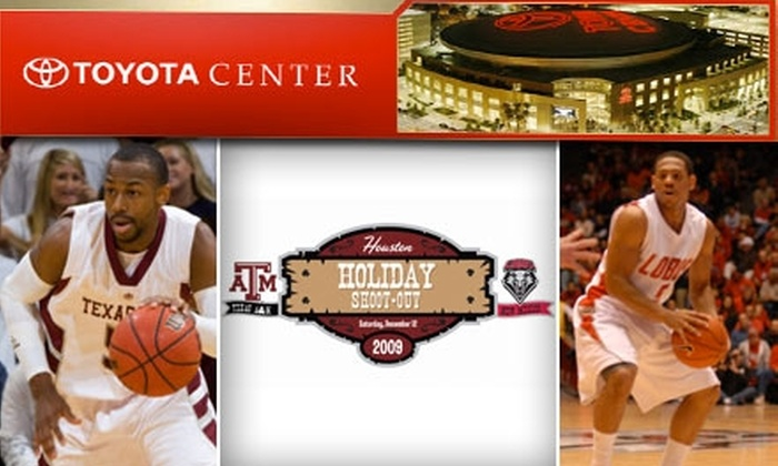 Toyota Center - Downtown: $10 for an NCAA Basketball Ticket to Texas A&M vs. New Mexico, at Toyota Center ($20 Value)