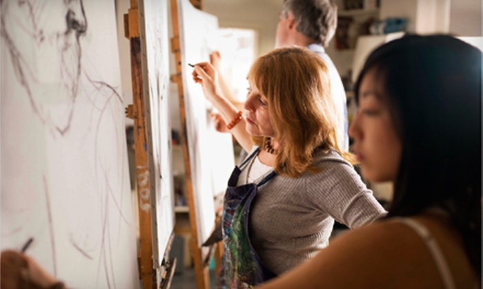 Paintlounge - Markham: $40 for a Social Painting Experience for Two at Paintlounge in Markham (Up to $84 Value)