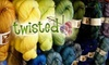 Twisted - Sullivan's Gulch: $20 for $40 Worth of Knitting and Craft Supplies at Twisted