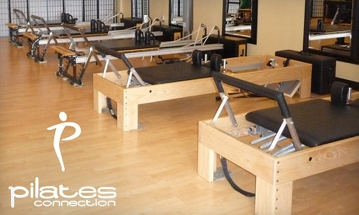 Pilates Connection - Gahanna: $45 for 10 Pilates Mat Classes ($100 Value) or $100 for a Meet Pilates Solo Reformer Package ($200 Value) at Pilates Connection