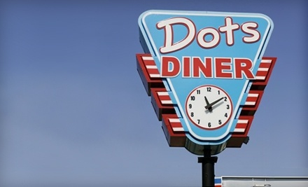$12 Groupon to Dots Diner - Dots Diner in Metairie