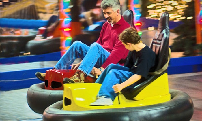 Arnold's Family Fun Center - Oaks: Bumper Cars, Krazy Kars, Mini Golf, and Duck-Pin Bowling Packages for Two, Four, or Six at Arnold's Family Fun Center in Oaks