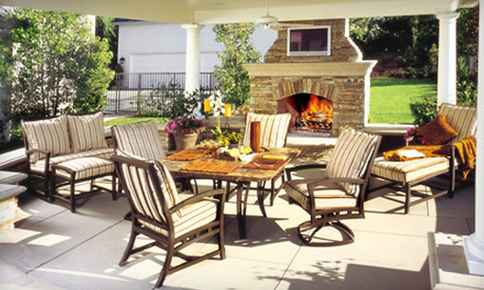 Sunnyland Furniture - Dallas: Outdoor Furniture Set or Outdoor Accessories and Home Decor at Sunnyland Furniture