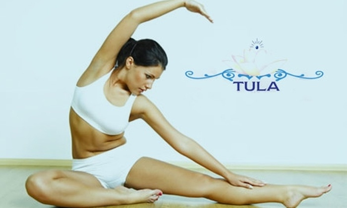 Tula Hot Yoga - Multiple Locations: $40 for Five Classes at Tula Hot Yoga (Up to $95 Value). Choose One of Two Locations.