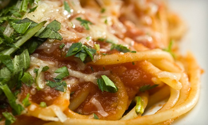 The Red Pepper - Summerville: $20 for $40 Worth of Italian Fare at The Red Pepper in Summerville
