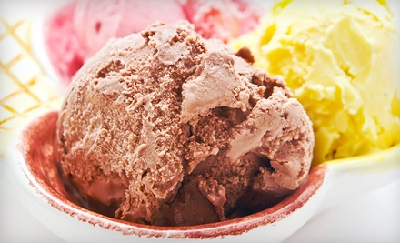 10-Scoop Punch Card (a $28 value) - By The Scoop Ice Cream Parlor in Middle River
