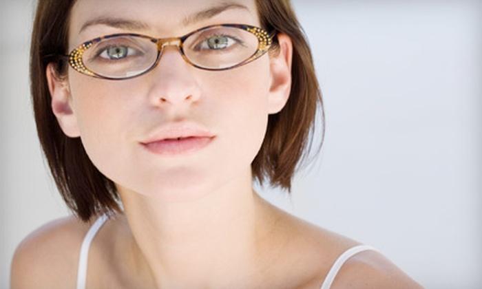 Eye Etiquette Optical Boutique - Victoria: Sunglasses or Complete Pair of Prescription Glasses with Exam at Eye Etiquette Optical Boutique