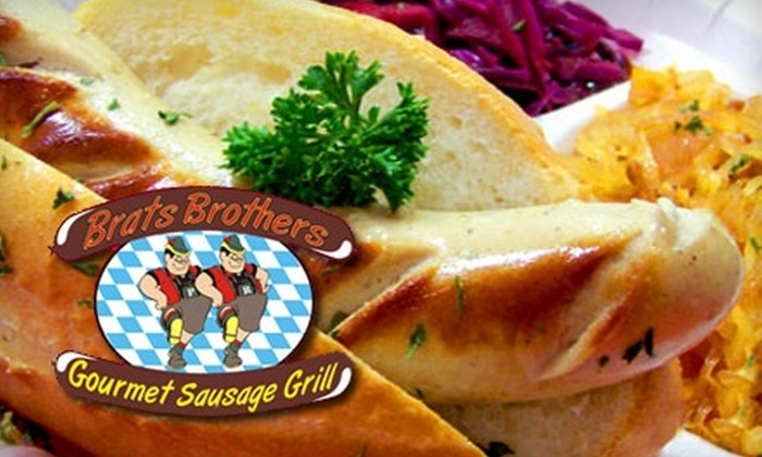 Brats Brothers - Sherman Oaks: $8 for $16 Worth of Brats and Drinks at Brats Brothers