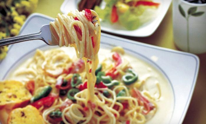 Marino's Italian Cuisine - Nelson: Italian Fare for Two, Three, or Four at Marino's Italian Cuisine in Williamsburg (Half Off)