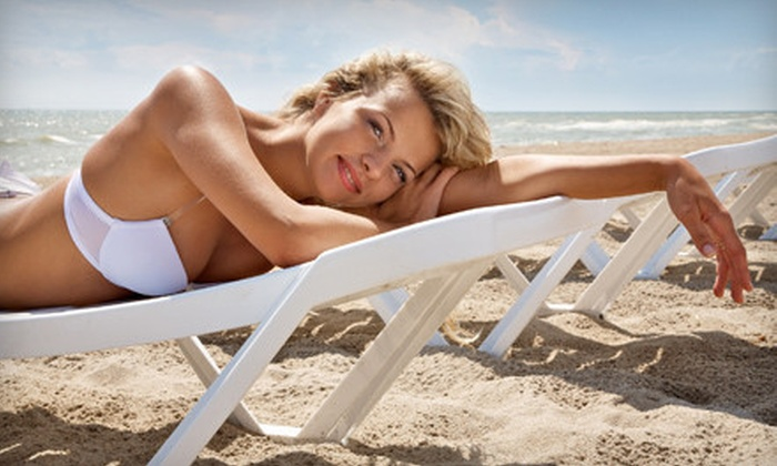 Image Tan - Northwest Harris: Five VersaSpa Spray-Tanning or UV-Tanning Sessions in Any Bed Level or One Month of Unlimited Tanning at Image Tan (Up to 86% Off)