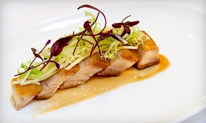 Desmond's - Upper East Side: $49 for a Three-Course Upscale Dinner for Two with Cocktails, Appetizer, Entrees, Dessert, and Coffee at Desmond's (Up to $110 Value)