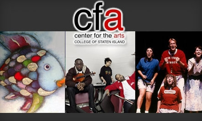Center for the Arts - New York: Ticket to Kids' Show at Center for the Arts (Up to $20 Value). Choose from Three Shows.