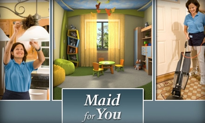 Maid for You - Austin: $55 for Three Hours of Home Cleaning from Maid for You