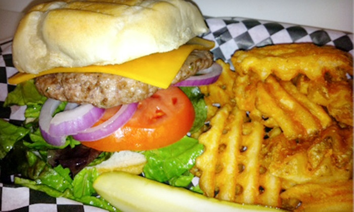The Rock N Roll Cafe - Metairie: $10 for $20 Worth of Burgers and American Fare at The Rock N Roll Cafe in Metairie