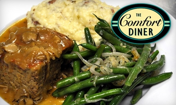 Comfort Diner - New York: $12 for $25 Worth of Fare at Comfort Diner on Staten Island