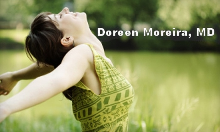 Doreen Moreira, MD - Cabin John: $99 for a 60-Minute Wellness Consultation with Doreen Moreira, MD, in Cabin John
