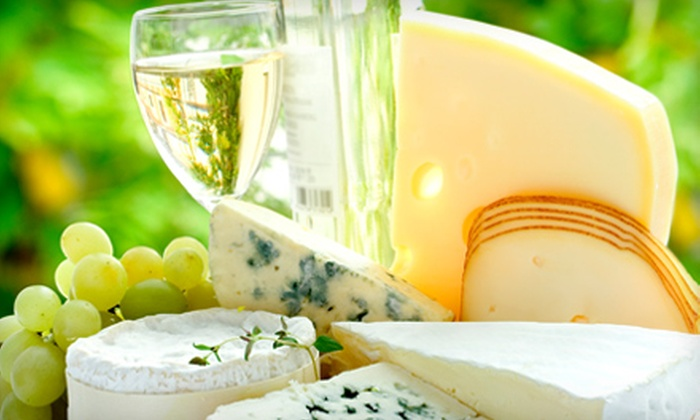 The Wine List - West Chester: $10 for a Wine and Cheese Tasting for Two at The Wine List in West Chester ($20 Value)