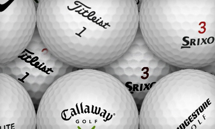 KnetGolf.com: $20 for $40 Worth of Golf Balls from KnetGolf.com