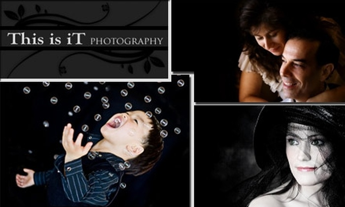 This is iT Photography - Santa Clara: $35 for a One-Hour Photo Session and 15 Digital Images Plus 25% Off All Prints at This is iT Photography