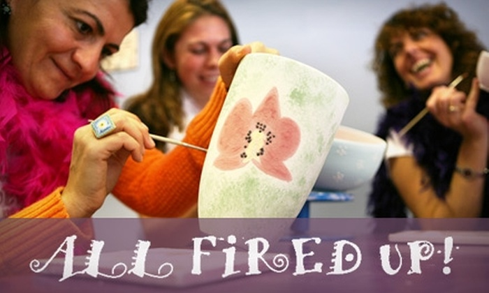 All Fired Up! - Wallhaven: $15 for $30 Worth of Pottery Painting at All Fired Up!