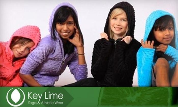 Key Lime Athletic Wear - Sherwood Park: $29 for $60 Worth of Apparel at Key-Lime Athletic Wear