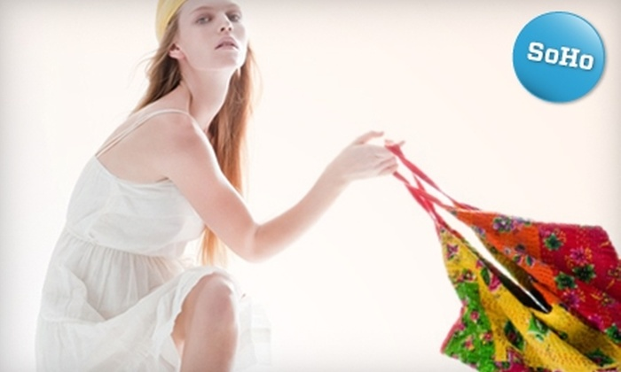 Flying A - SoHo: $25 for $55 Worth of Men's and Women's Clothing, Accessories, and Vintage Gear at Flying A in SoHo