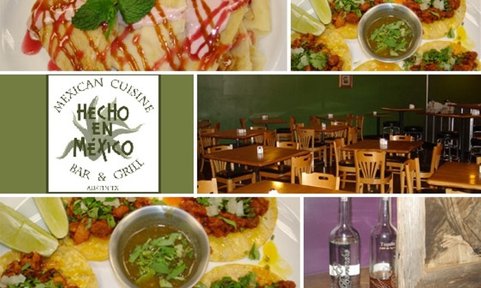 Hecho En Mexico - West Oak Hill: $20 for $40 Worth of Mexican Cuisine at Hecho En Mexico