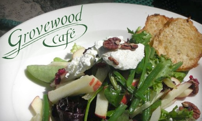 Grovewood Cafe - Grove Park- Sunset: $20 for $40 Worth of Homemade Dinner Cuisine at Grovewood Café (or $10 for $20 Worth of Lunch)