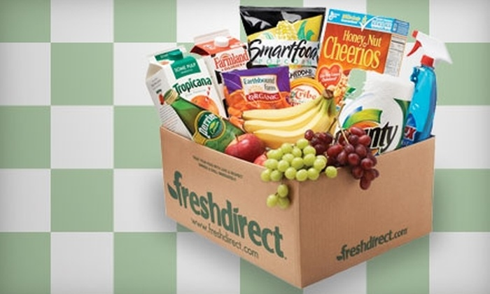 FreshDirect: $25 for $50 Toward Grocery Delivery from FreshDirect