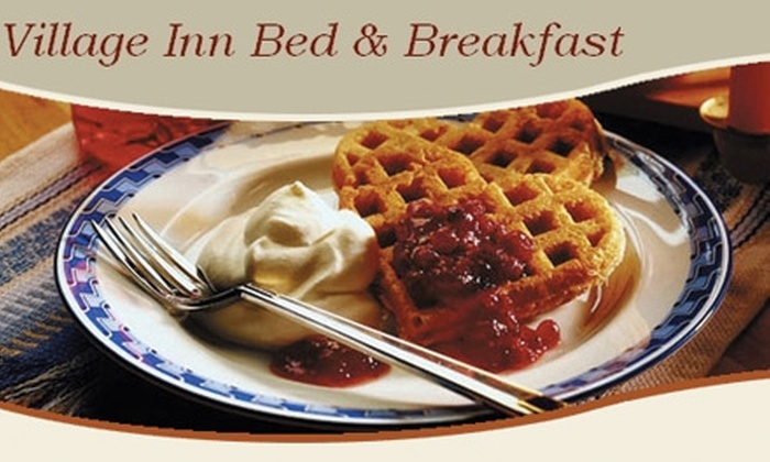 Village Inn Bed & Breakfast - Stone Mountain: $59 for a One-Night Stay at the Village Inn Bed & Breakfast