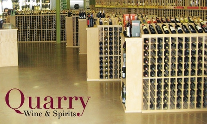 Quarry Wine and Spirits - Pikesville: $10 for $20 Worth of Wine at Quarry Wine and Spirits