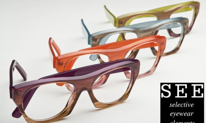 SEE Eyewear - Multiple Locations: $50 for $200 Worth of SEE Eyewear Brand Prescription Eyeglasses or Sunglasses