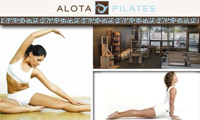Alota Pilates - St. Louis Park: $35 for Five Mat Classes at Alotapilates ($100 Value)