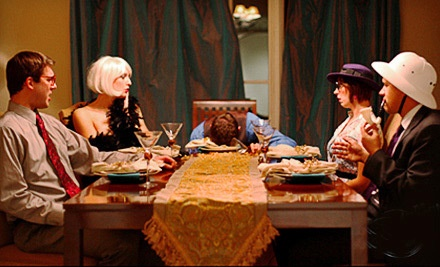 2-Hour Dinner and Whodunit Performance for 1 (a $60 value) - The Murder Mystery Company in Dallas