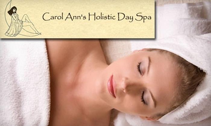 Carol Ann's Holistic Day Spa - Massapequa Park: $17 for Brazilian Bikini Wax ($35 Value) or $31 for Body Wrap ($63 Value) at Carol Ann's Holistic Day Spa in Massapequa Park