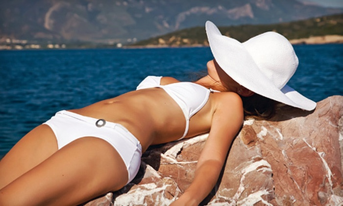 Malibu by the Sea  - Villa Del Monte: One or Three Airbrush Tans at Malibu by the Sea in Monterey (Up to 63% Off)