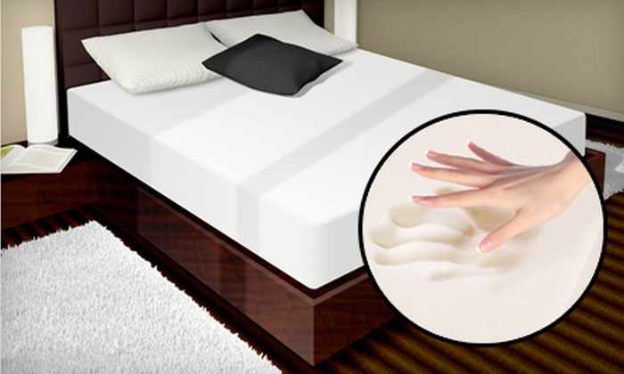 Memory-Foam Mattress: Full, Queen, or King PuraSleep PuraVida Essence Memory-Foam Mattress (Up to 68% Off). Shipping Included.