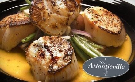 Atlanticville Restaurant & Cafe: $30 Groupon for Dinner - Atlanticville Restaurant & Cafe in Sullivan's Island