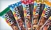 KIND **NAT**: $10 for $25 Worth of All-Natural KIND Snacks from KINDsnacks.com