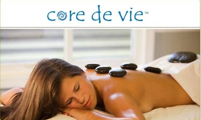 Core de Vie - Beacon Hill: $50 for a One-Hour Massage at Core de Vie ($105 value)