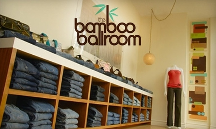 The Bamboo Ballroom - Strathcona: $40 for $80 Worth of Boutique Apparel and Accessories at The Bamboo Ballroom