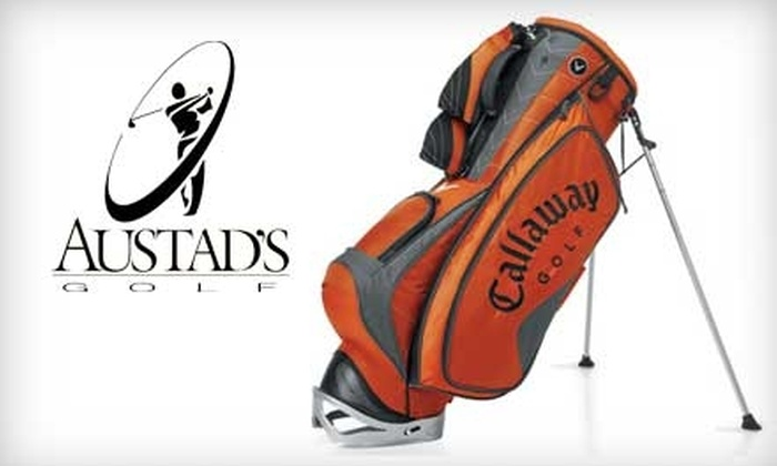 Austad's Golf - Multiple Locations: $15 for $30 Worth of Equipment, Apparel, and More at Austad's Golf