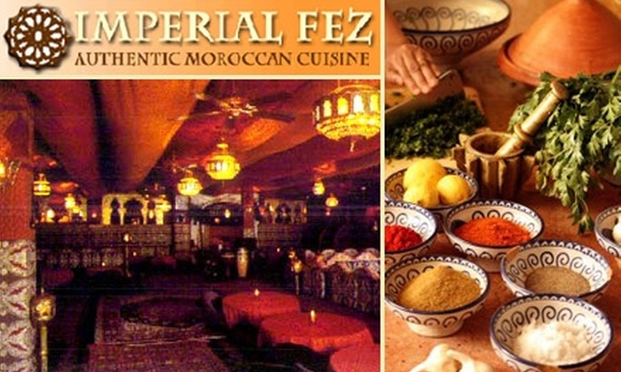 Imperial Fez - Buckhead: $50 for $100 Worth of Moroccan Cuisine and Drinks at Imperial Fez