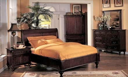 $100 Groupon to Atlantic Bedding and Furniture - Atlantic Bedding and Furniture in North Charleston