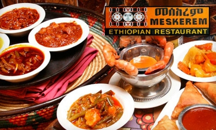 Meskerem - Adams Morgan: $15 for $30 Worth of Ethiopian Food at Meskerem