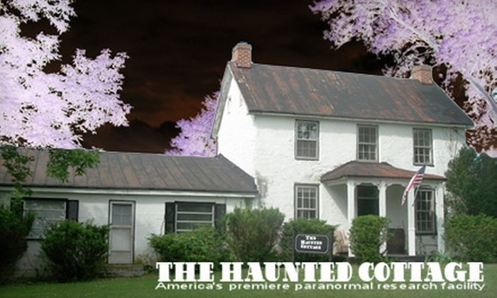 The Haunted Cottage - Harpers Ferry: Paranormal Adventure at The Haunted Cottage in Harper's Ferry. Choose from Two Tours.